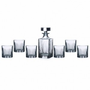 Lorren Home Trends RCR Timeless Whiskey Set, 7-Piece