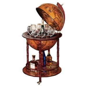 Design Toscano SJ45001 Sixteenth-Century Italian Replica Globe Bar