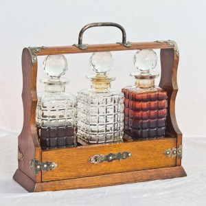 Tantalus-decanter-set